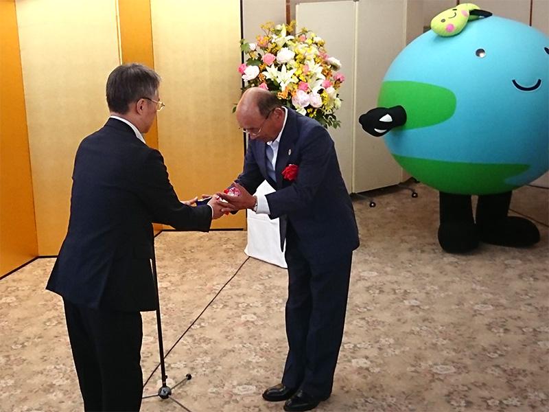 遠藤芳和会長