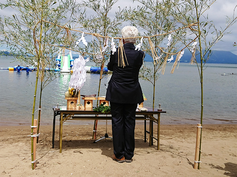湖まつり水難防止祈願祭