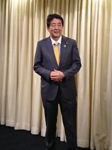安倍晋三総裁