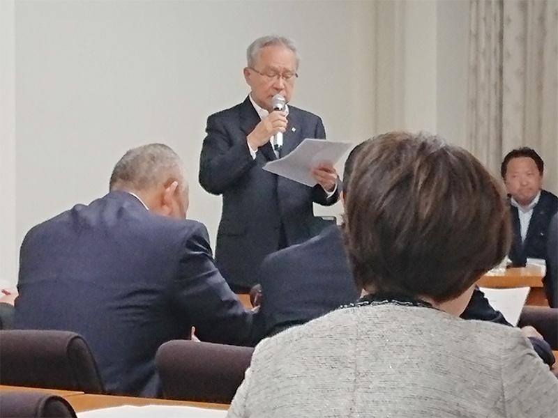 東邦銀行取締役頭取 北村清士