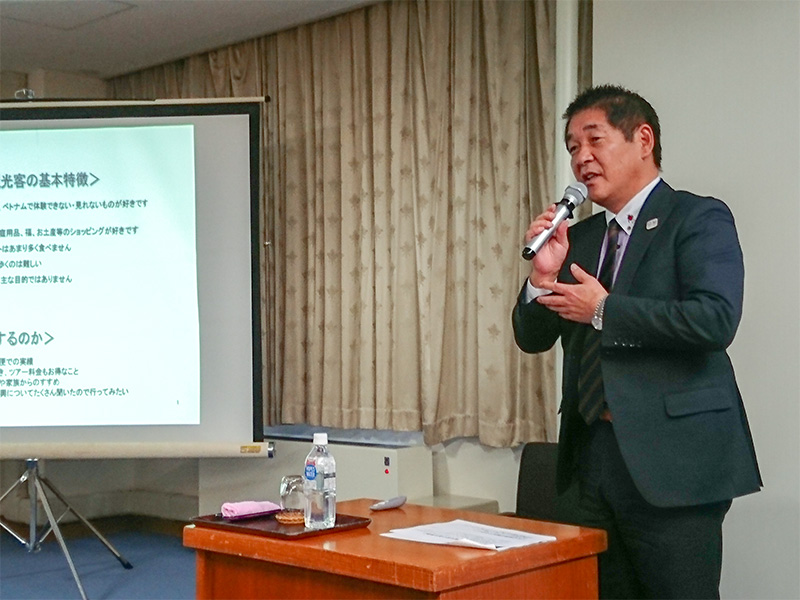 福島ツーリストサービス(株)代表取締役社長斎藤修