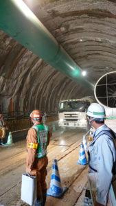 天栄村 鳳坂トンネル