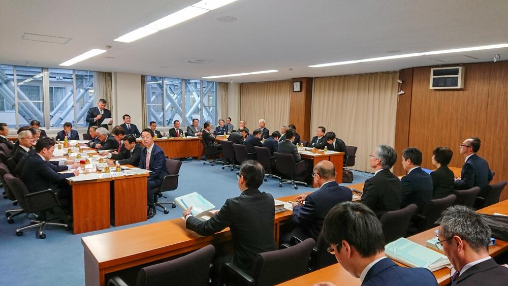 2019年12月県議会自民党政調会