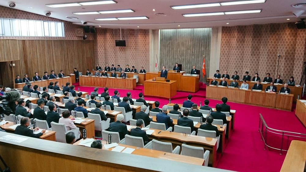 12月 福島県議会