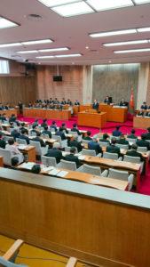 福島県議会議場