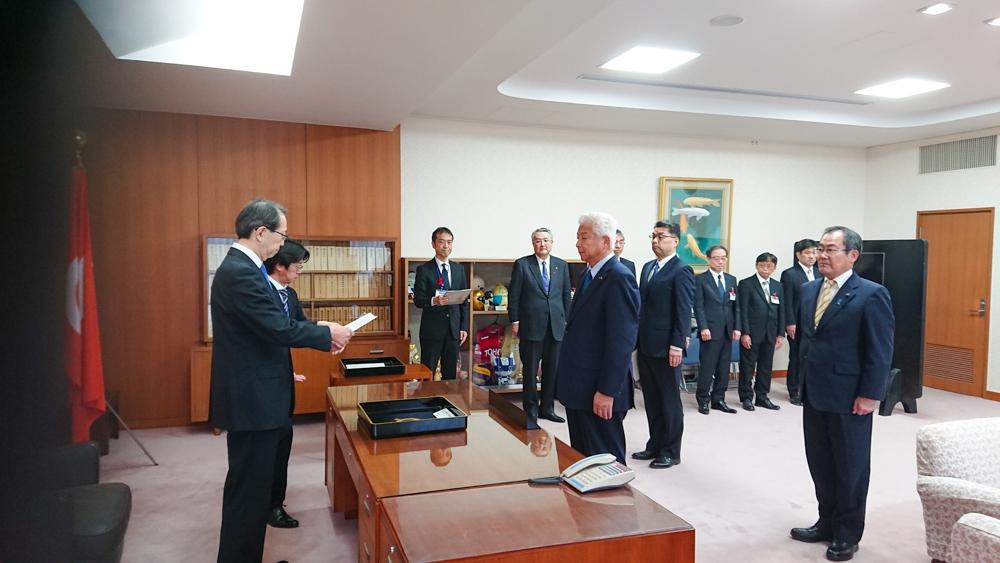 福島県知事室