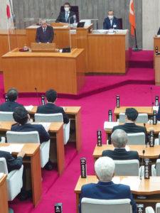定例県議会