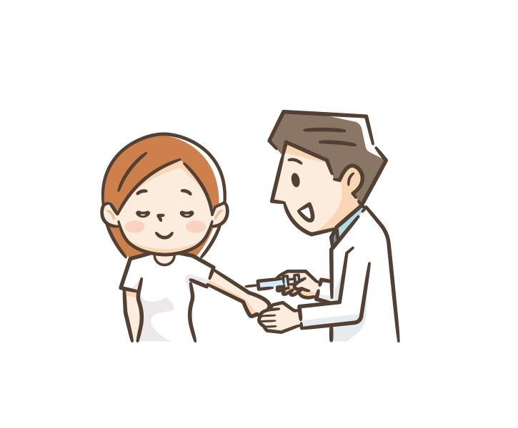 コロナワクチンの注射
