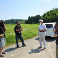 農業復興ボランティア